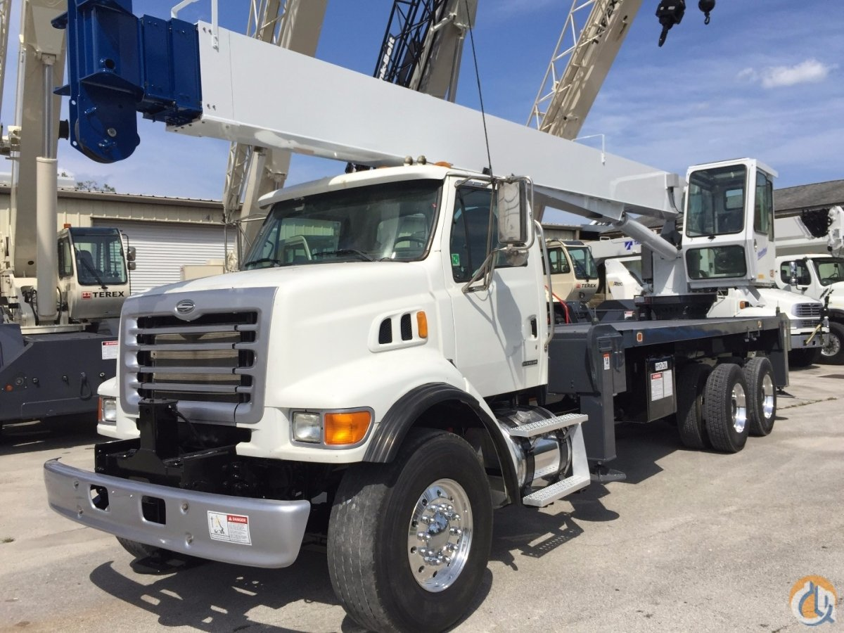 Sold 2007 STERLING MANITEX 28102S 28T 102 46 Crane for  in Fort Pierce Florida on CraneNetwork.com