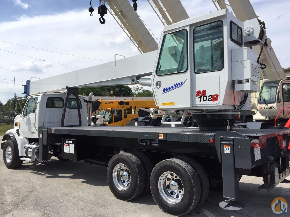 2007 STERLING MANITEX 28102S 28T 102 46 Crane for Sale in Fort Pierce Florida on CraneNetworkcom