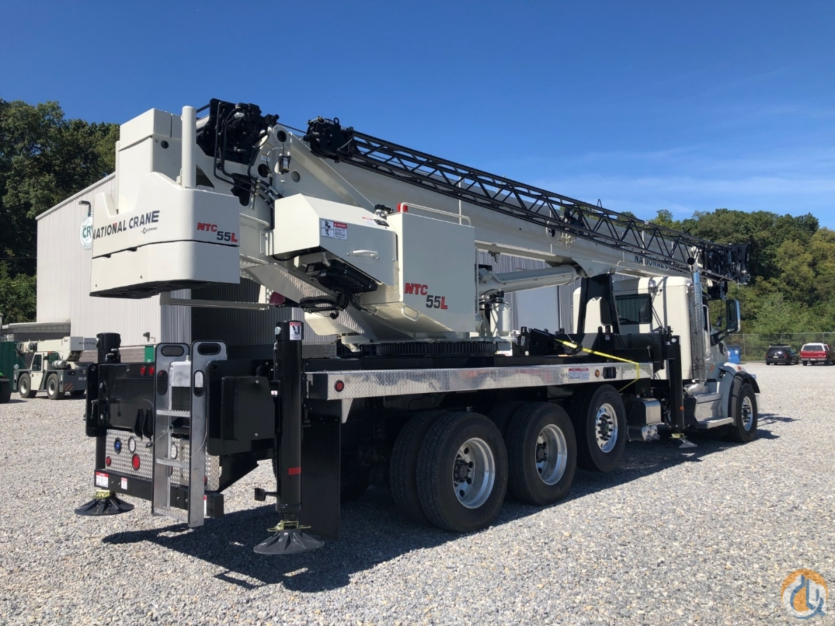 Brand New National Crane 55-Ton Long Boom Crane for Sale in Oxford Massachusetts on CraneNetwork.com