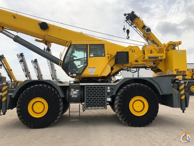 Fresh Paint Ready to Work Crane for Sale in Pittston Pennsylvania on CraneNetworkcom