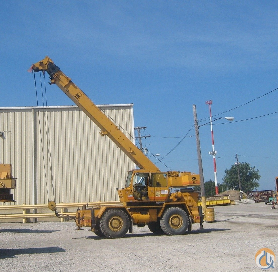 1981 Grove RT522 Crane for Sale in Cleveland Ohio on CraneNetwork.com