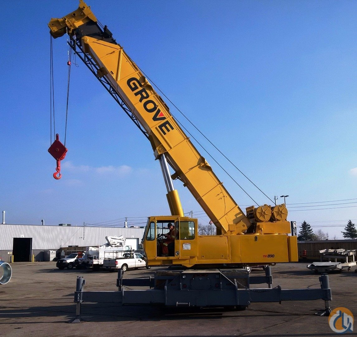 Sold 1987 Grove Tm890 Crane For In Oakville Ontario On