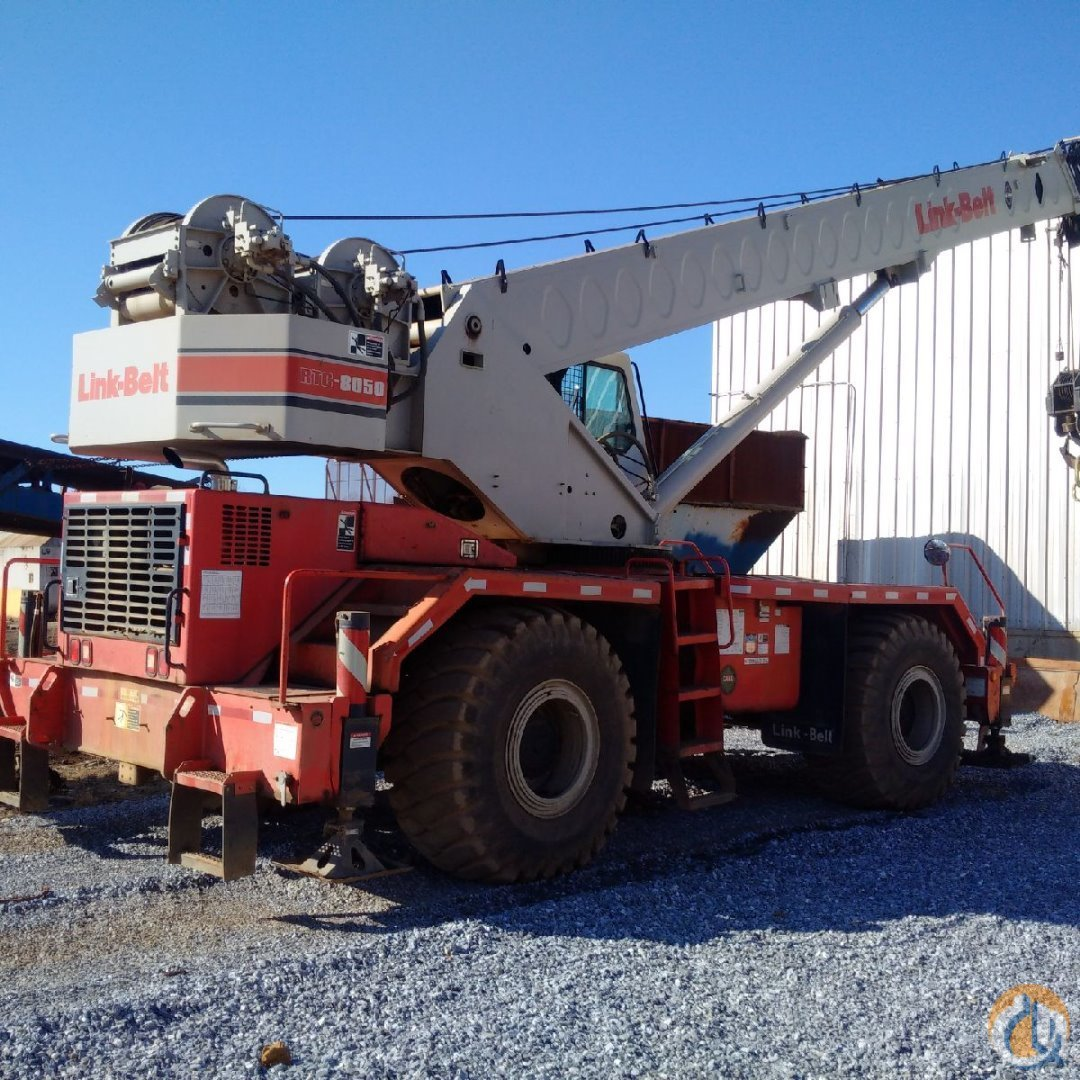 2000 Link-Belt RTC-8050 Crane for Sale or Rent in Troutville Virginia on CraneNetwork.com