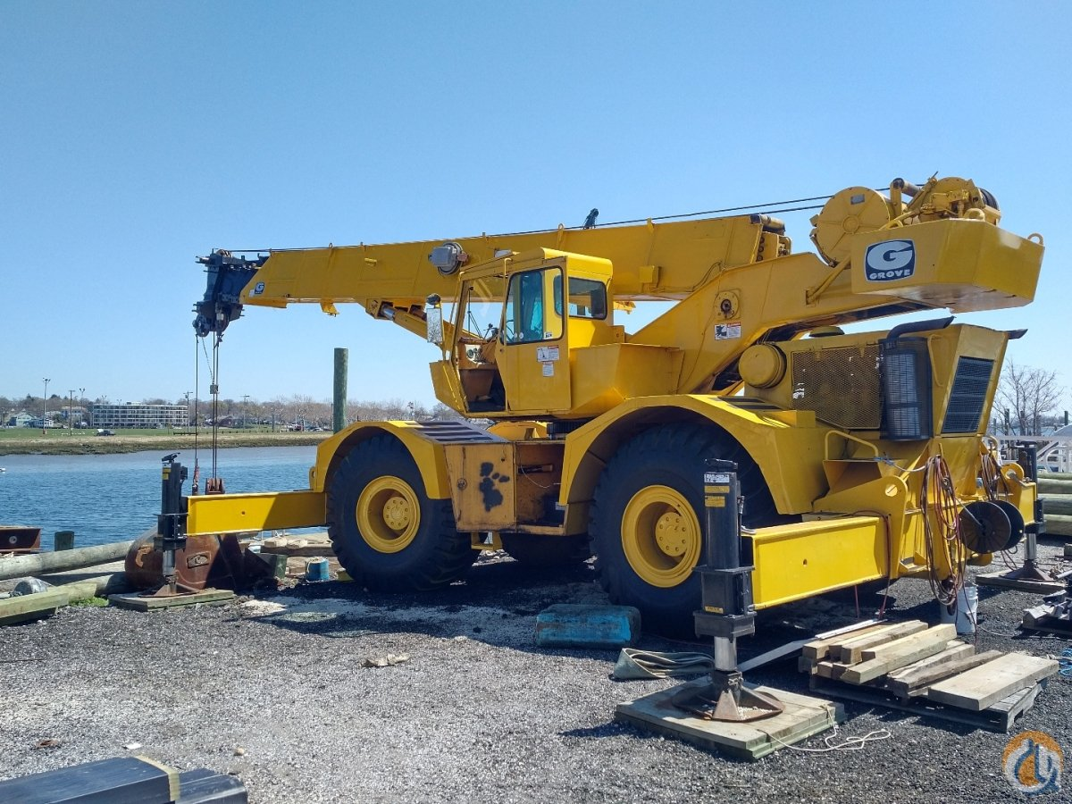 Grove RT 65s FOR PARTS Crane for Sale in Billerica Massachusetts on CraneNetwork.com
