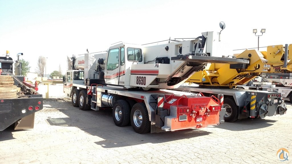 Used 2008 Link-Belt HTC-8690 Crane for Sale in Brighton Colorado on CraneNetworkcom