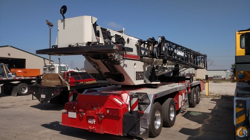 Used 2008 Link-Belt HTC-8690 Crane for Sale in Brighton Colorado on CraneNetwork.com