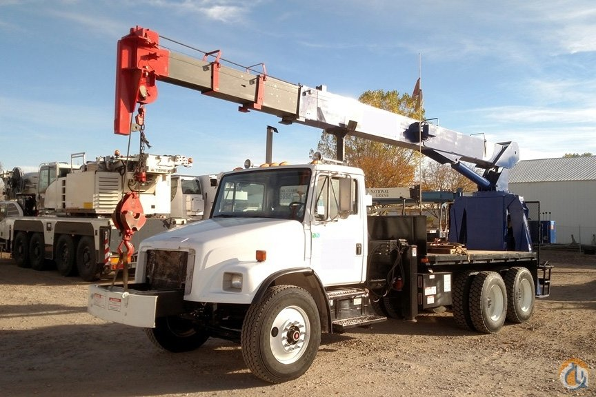 2000 National 600C  681C 17-Ton 24-81 Four-Section Boom on 2000 Freightliner FL80 Crane for Sale in Brighton Colorado on CraneNetworkcom