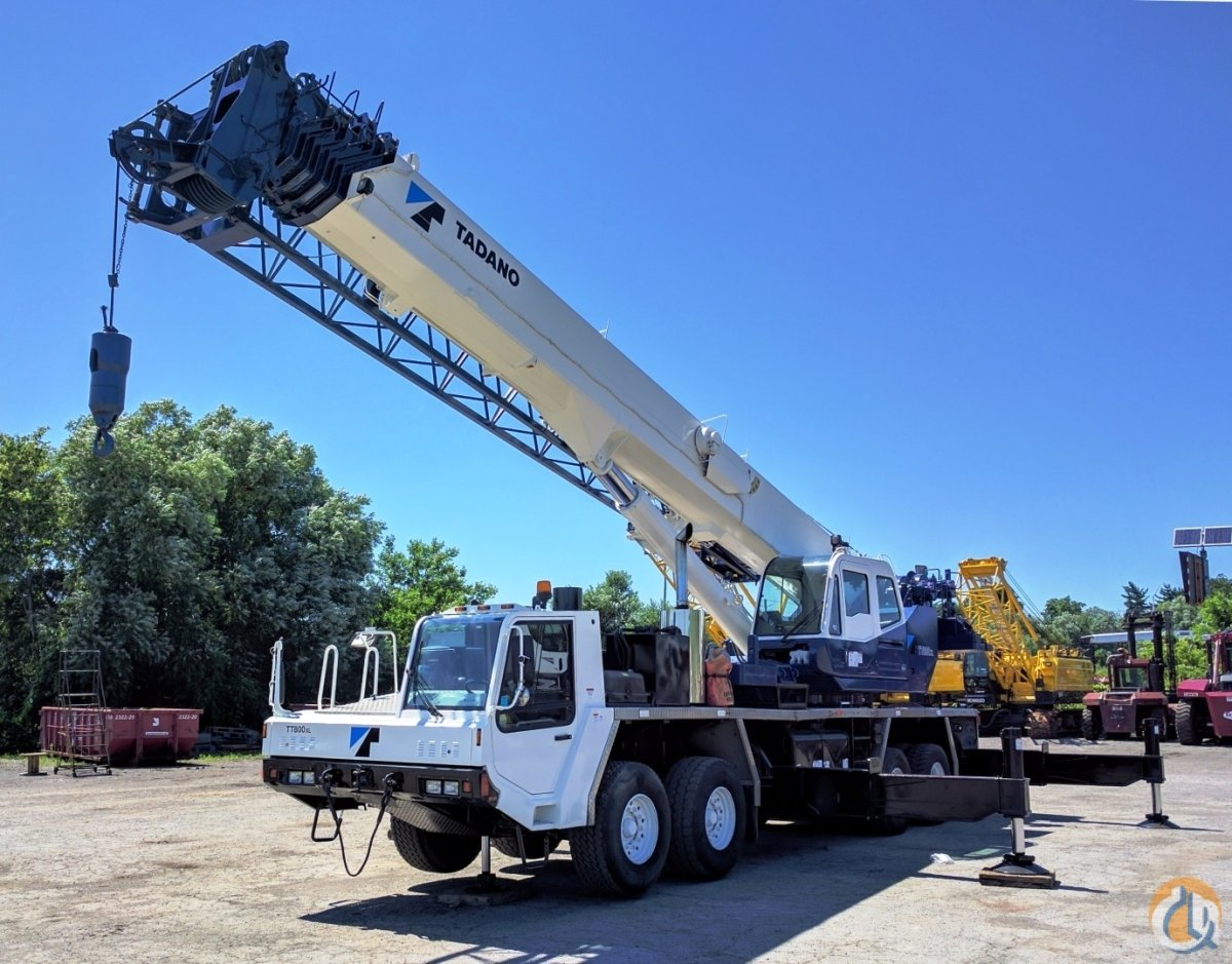 2005 Tadano TT800XXL-4 Crane for Sale in Oakville Ontario on CraneNetworkcom