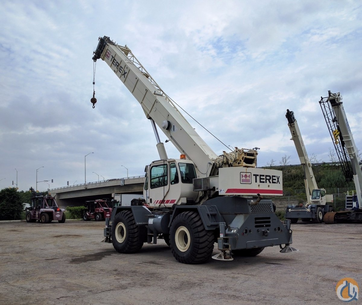 2007 Terex RT 555-1 Crane for Sale in Oakville Ontario on CraneNetwork.com