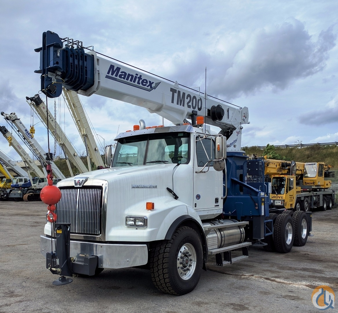 Sold 2017 Manitex 2085T Crane for  in Oakville Ontario on CraneNetwork.com