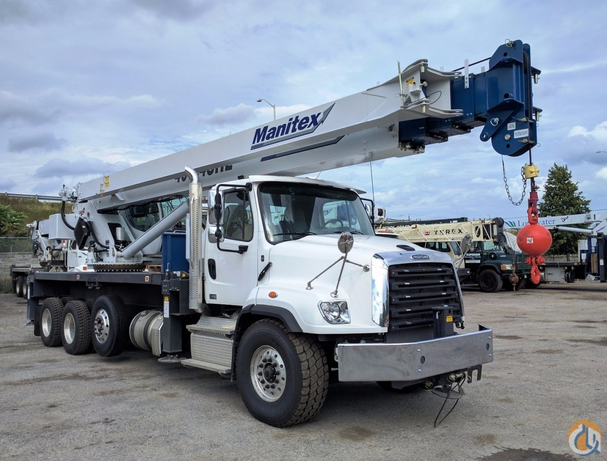 2017 Manitex 40124SHL Crane for Sale or Rent in Oakville Ontario on CraneNetwork.com