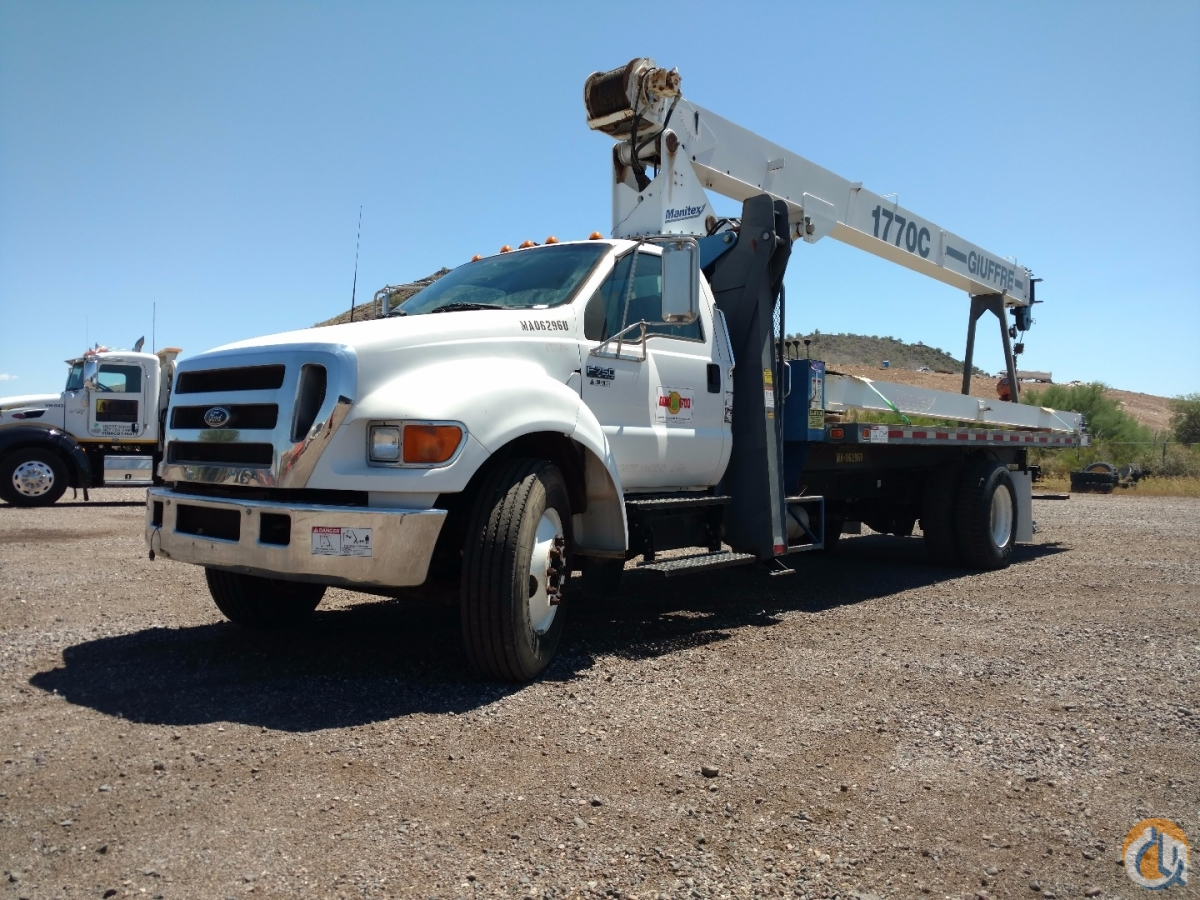 Sold 2006 Manitex 1770 C Crane for  in Phoenix Arizona on CraneNetwork.com