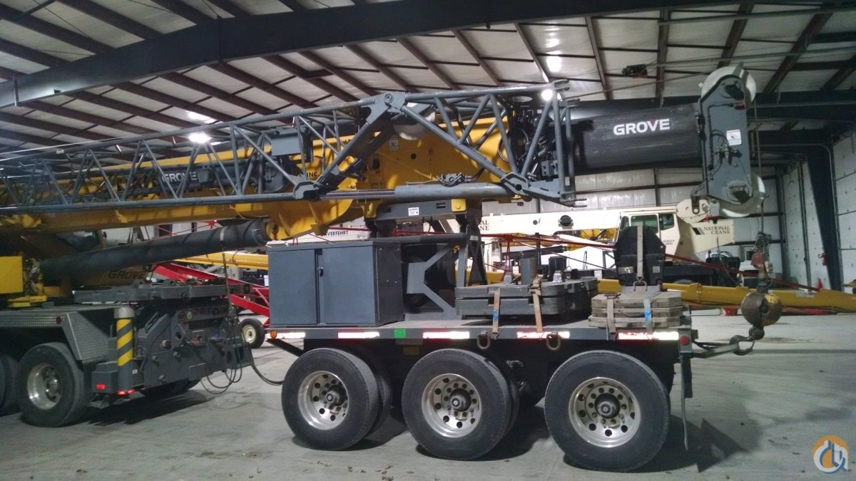 Sold 2008 Grove TMS9000E Crane for  in   on CraneNetwork.com