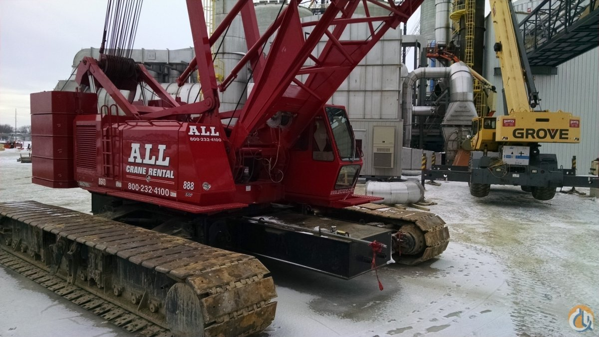Manitowoc 888 For Sale Crane for Sale in Kaukauna Wisconsin on CraneNetwork.com