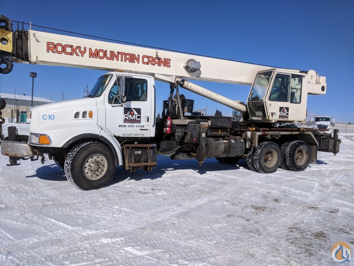 2000 Sterling with USTC 40MTC Crane Crane for Sale in McCall Idaho on CraneNetwork.com
