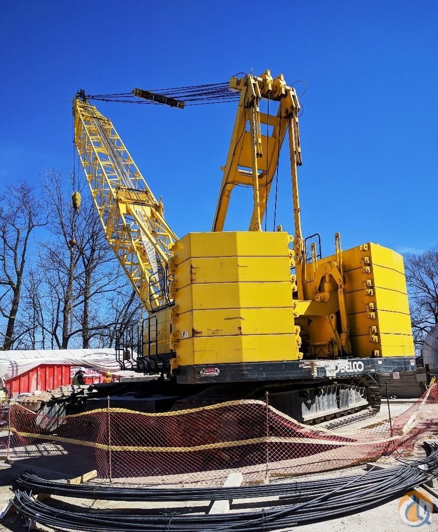 Sold 2013 Kobelco CK1600G Crane for in Oakville Ontario on