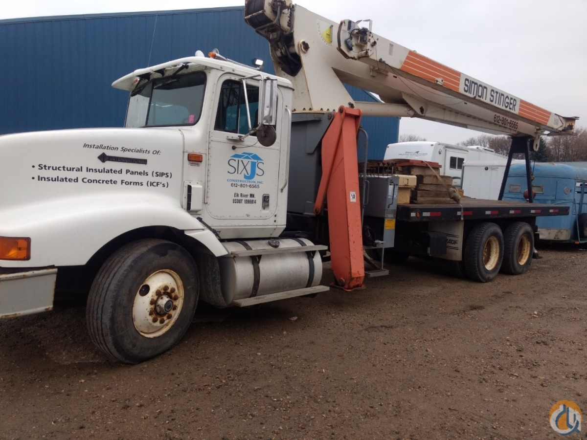 1997 TEREX TC4485 22 5 TON BOOM TRUCK Crane for Sale in Rogers