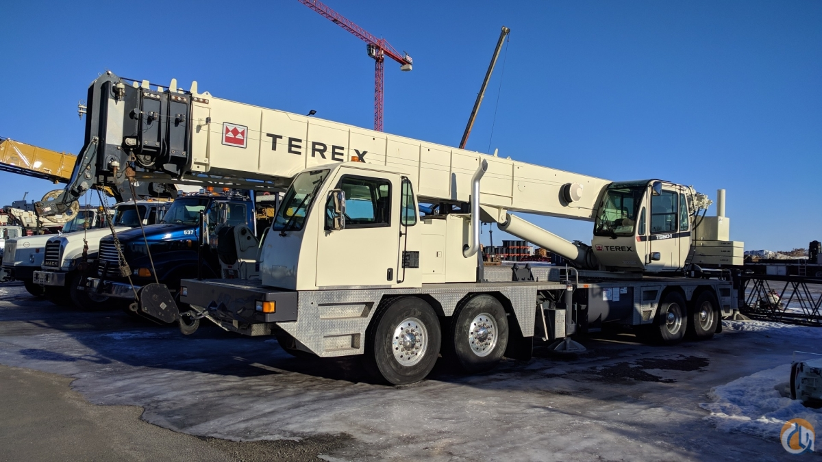 2011 TEREX T-560 Crane for Sale in Saint-Mathieu-de-Beloeil Qubec on CraneNetwork.com