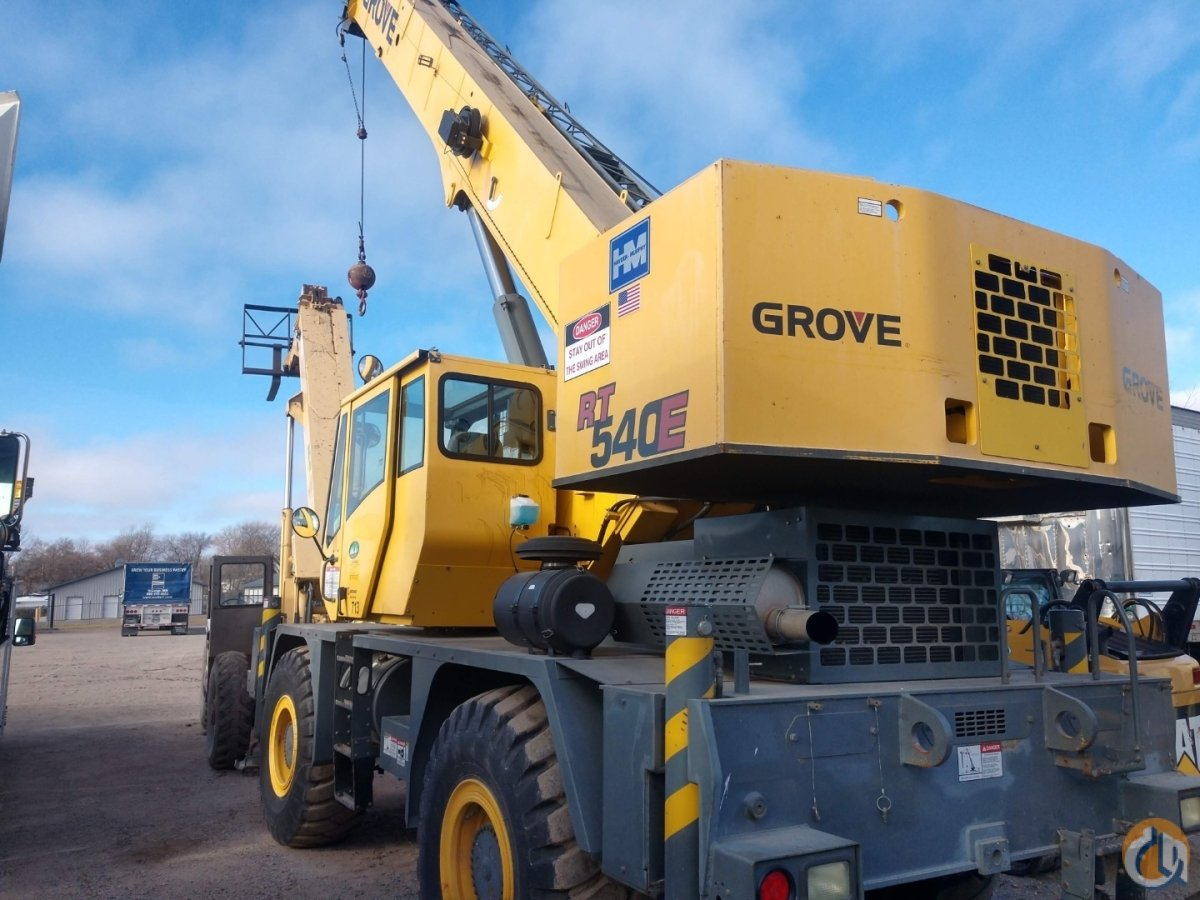 2007 Grove RT540E Crane for Sale on CraneNetwork.com