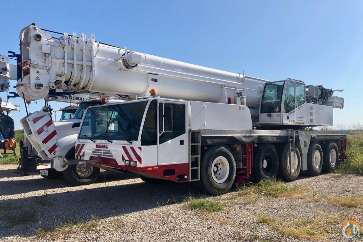 Used 2001 Demag AC 100-L Crane for Sale in Haslet Texas on CraneNetwork.com
