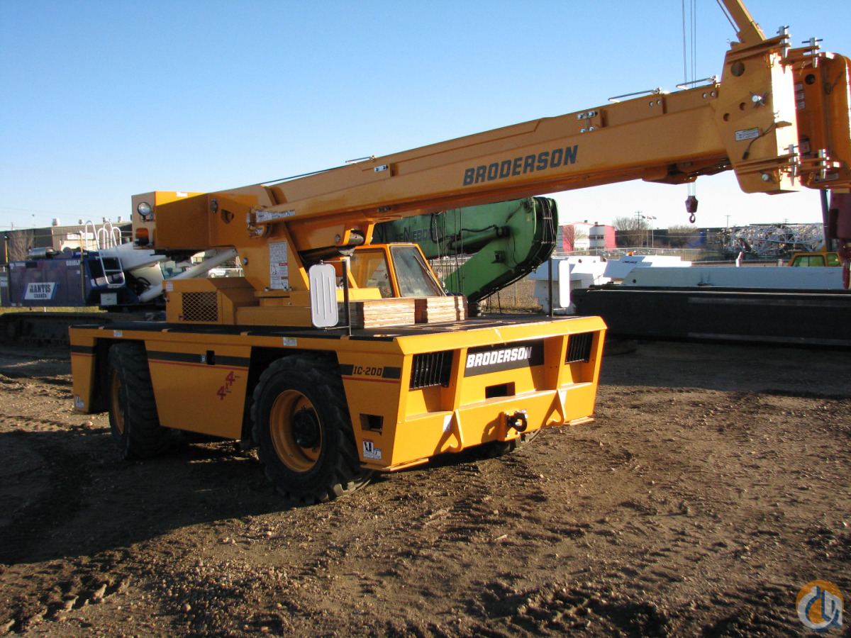 New 2015 Broderson IC-200-3H Crane for Sale in Leduc Alberta on CraneNetwork.com