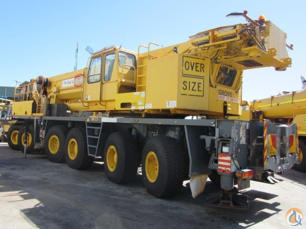 Great new offer for very low-hours 220T Grove all-terrain mobile crane Crane for Sale in Perth Western Australia on CraneNetwork.com