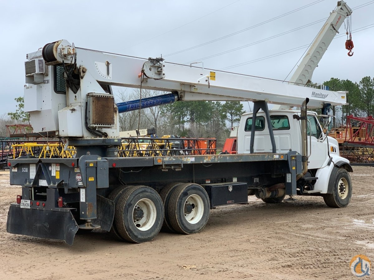 2005 MANITEX 28102S BOOM TRUCK Crane for Sale in Houston Texas on CraneNetwork.com