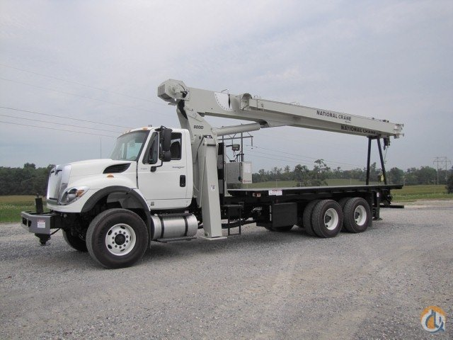 2013 NATIONAL 8100D Crane for Sale in Mississauga Ontario on CraneNetworkcom