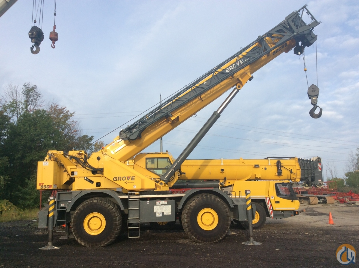 2012 Grove RT 890E 90 Ton Crane for Sale in Cleveland Ohio on CraneNetwork.com