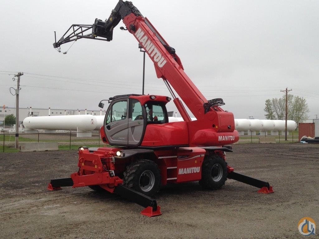 New 2016 Manitou MRT2150 - Unit available for Rent or RPO rental purchase option Crane for Sale or Rent in Lebanon Indiana on CraneNetwork.com