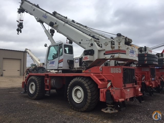 Link-Belt RTC 8065 65-ton Rough Terrain Cranes - Two available Crane for Sale or Rent in Savage Minnesota on CraneNetwork.com