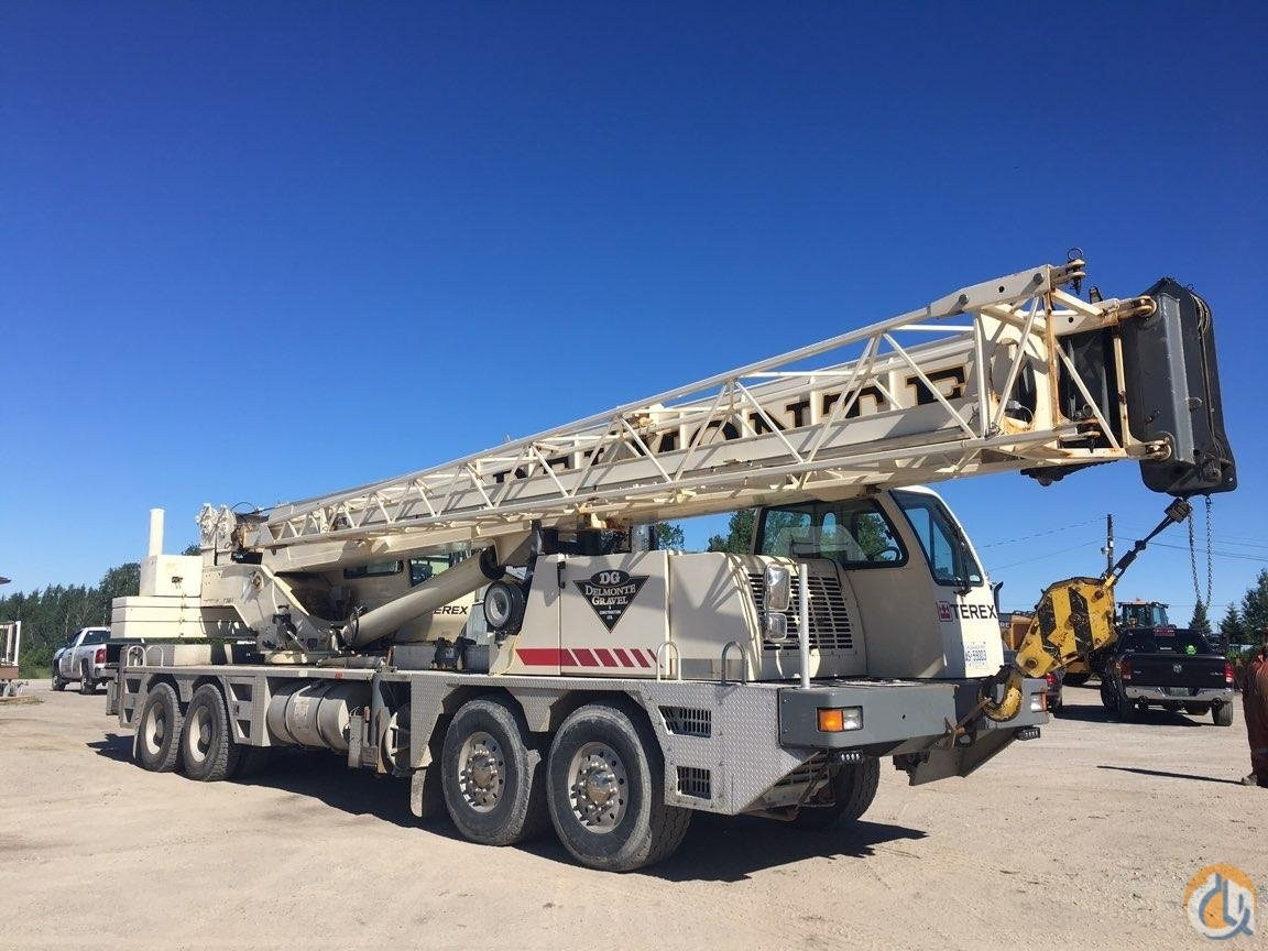 Sold 2008 TEREX T560-1 Crane for  in Oakville Ontario on CraneNetwork.com