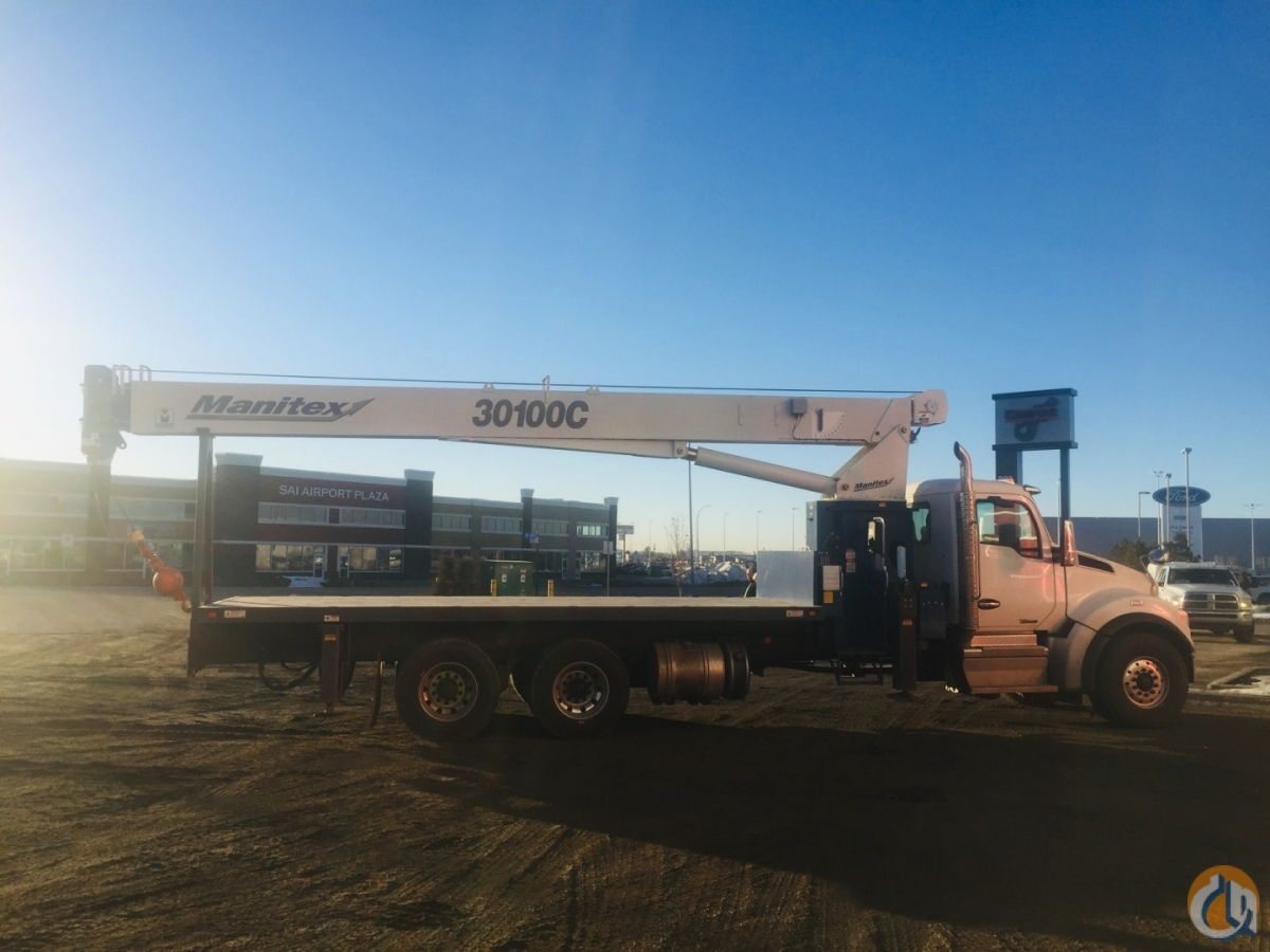 2019 MANITEX 30100C OD Crane for Sale or Rent in Nisku Alberta on CraneNetwork.com
