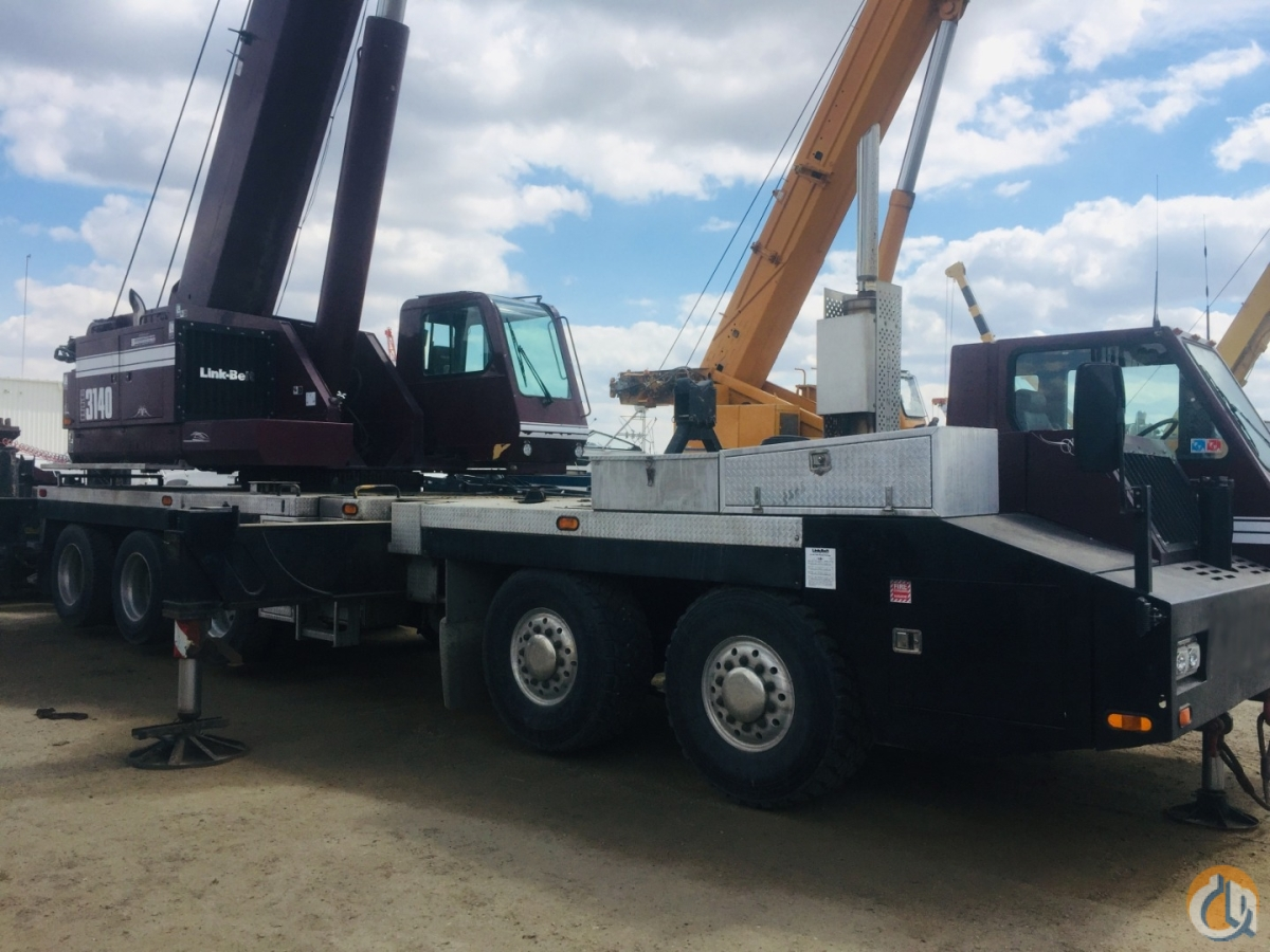 2010 LINK-BELT HTC3140 Crane for Sale or Rent in Nisku Alberta on CraneNetwork.com