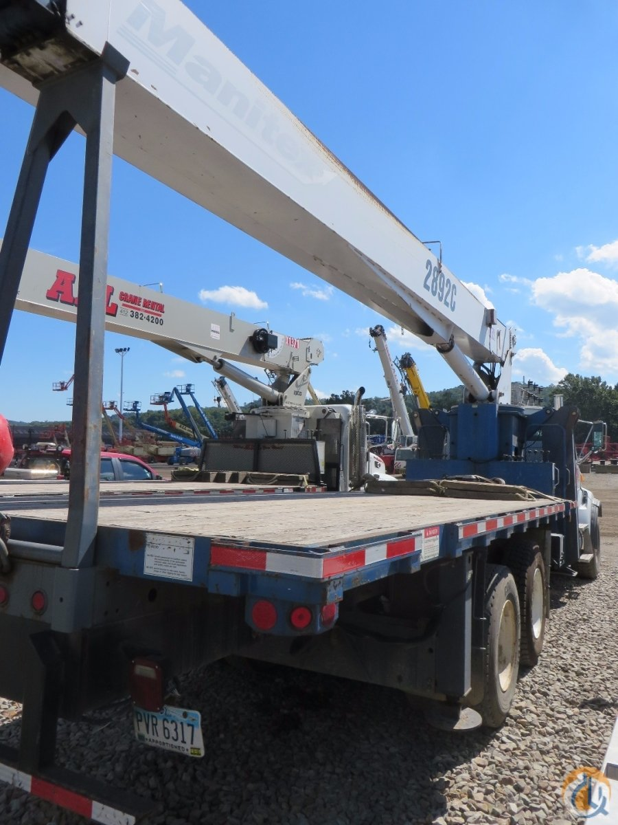 2007 MANITEX 2892C Crane for Sale in Mobile Alabama on CraneNetworkcom