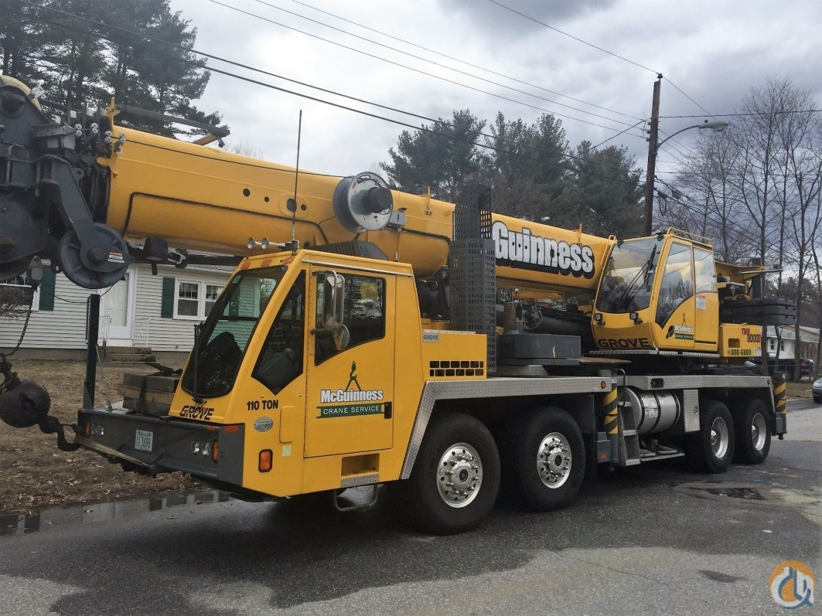 Sold 2009 Grove TMS9000E Crane for  on CraneNetwork.com