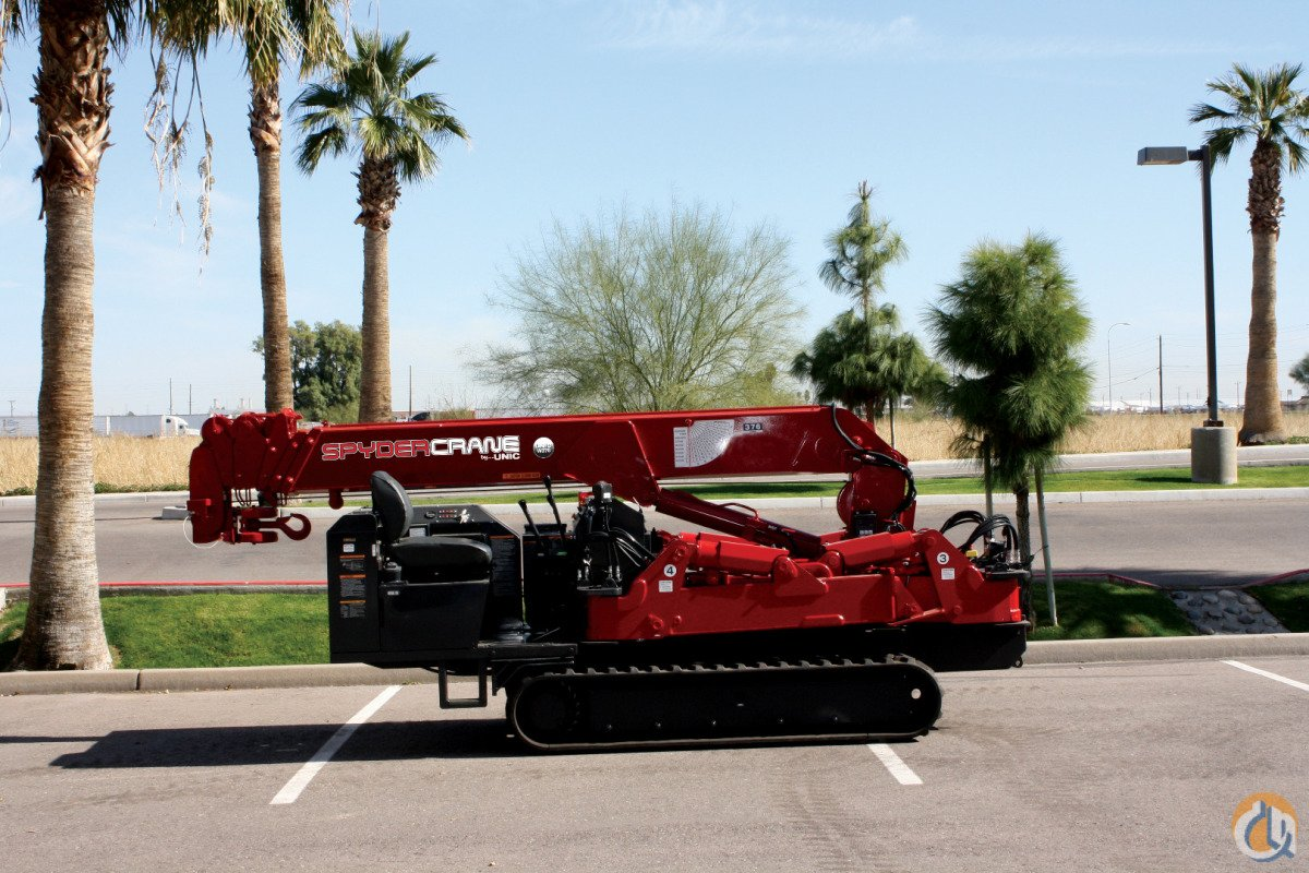 SPYDERCRANE - The 1 Selling mini-crawler in the World Crane for Sale or Rent in Phoenix Arizona on CraneNetwork.com