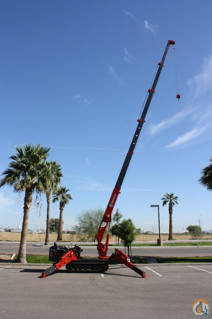 MAY SPECIAL  500000 Factory Incentive on NEW SPYDERCRANE URW376 Mini-Crawlers Crane for Sale in Phoenix Arizona on CraneNetworkcom