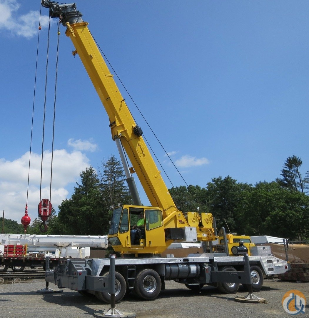 2005 GROVE TMS-700E 60 TON TIER 3 EngineNo Complex Emissions Crane for Sale on CraneNetworkcom