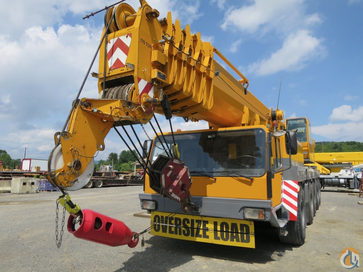 Rebuilt Engine FULL Jib - 115 FEET US SPEC CRANE WITH ALL OPTIONS Crane for Sale on CraneNetworkcom