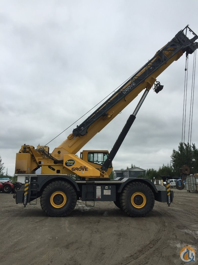 2007 Grove RT890E Crane for Sale in Seattle Washington on CraneNetwork.com