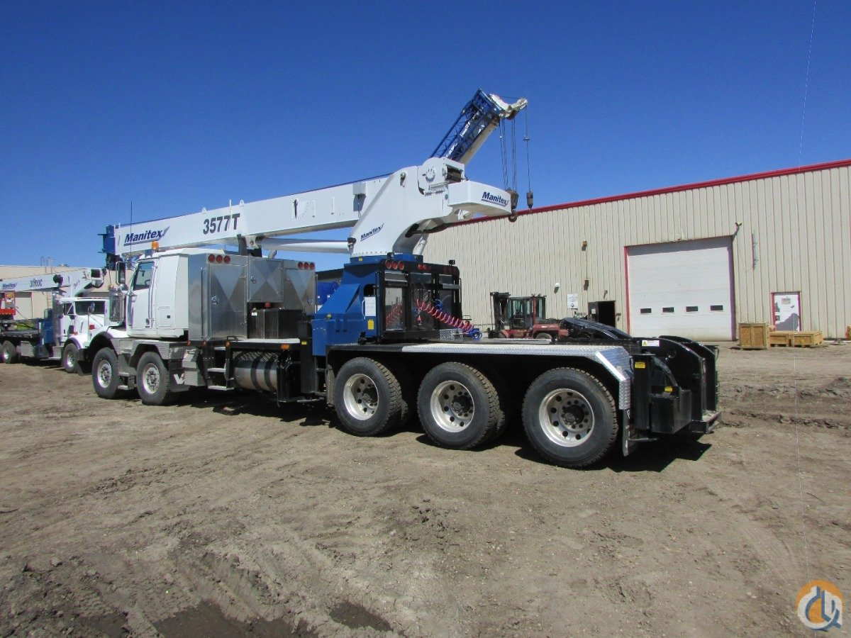 2015 MANITEX 3577 T Crane for Sale or Rent in Nisku Alberta on CraneNetwork.com