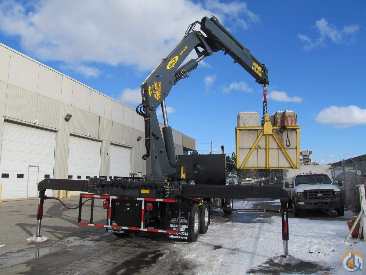 NEW HEILA HLR 45000-3S KNUCKLE BOOM on NEW 2017 KENWORTH T440  390 HP  AUTO 8LL Crane for Sale in Toronto Ontario on CraneNetworkcom