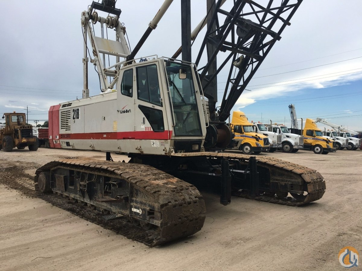 2004 LINK BELT LS218 HYLAB CRAWLER CRANE Crane for Sale in Houston Texas on  CraneNetwork.com