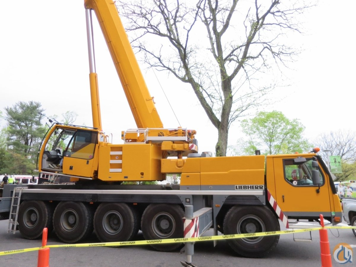 LIEBHERR LTM1095-5.1 115 US TON FULL U.S. SPEC CRANE 190 BOOM PLUS 85 HYDRAULIC JIB 2 WINCHES 20.5 TIRES AC DOLLY PREP TELMA Crane for Sale on CraneNetwork.com