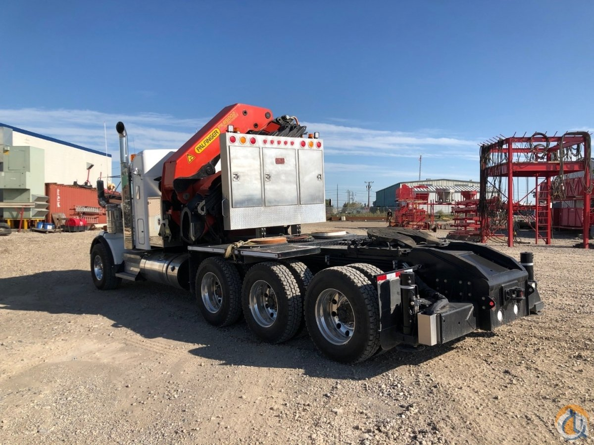 2019 Kenworth T800 Palfinger PK85002 Tractor Package Crane for Sale in Calgary Alberta on CraneNetwork.com