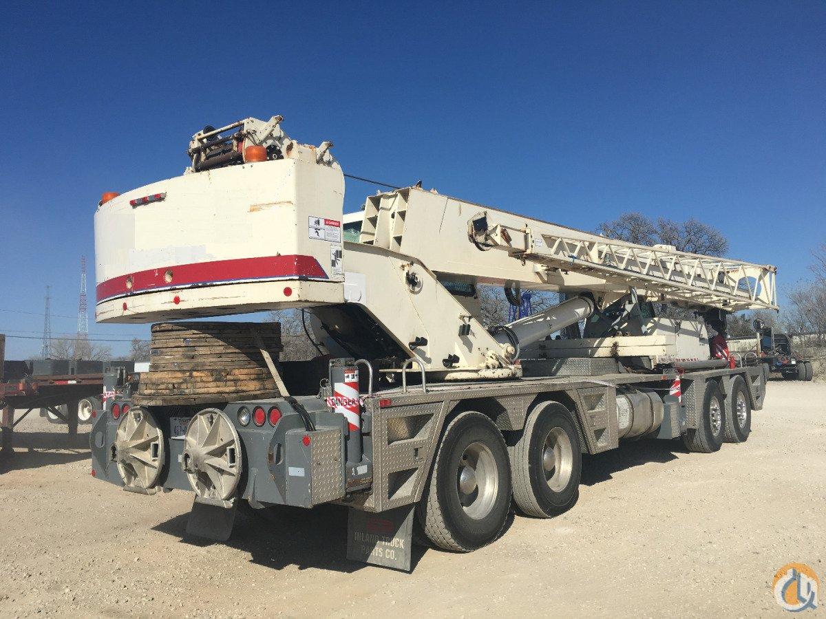2000 TEREX T550 Crane for Sale in Dallas Texas on CraneNetwork.com
