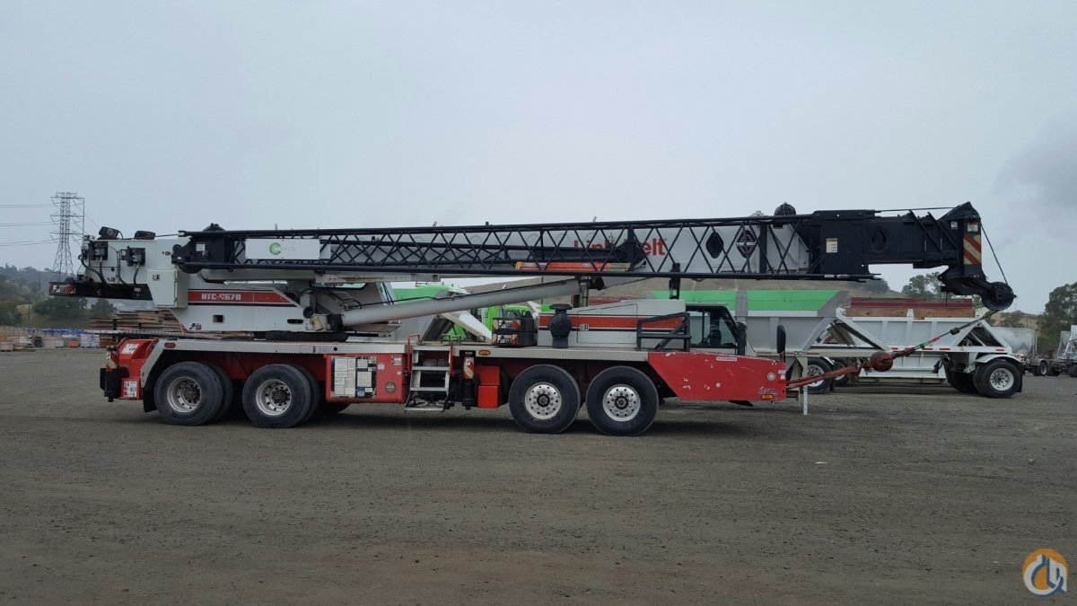 1999 Link-Belt HTC-8670 Crane for Sale in Concord California on CraneNetwork.com