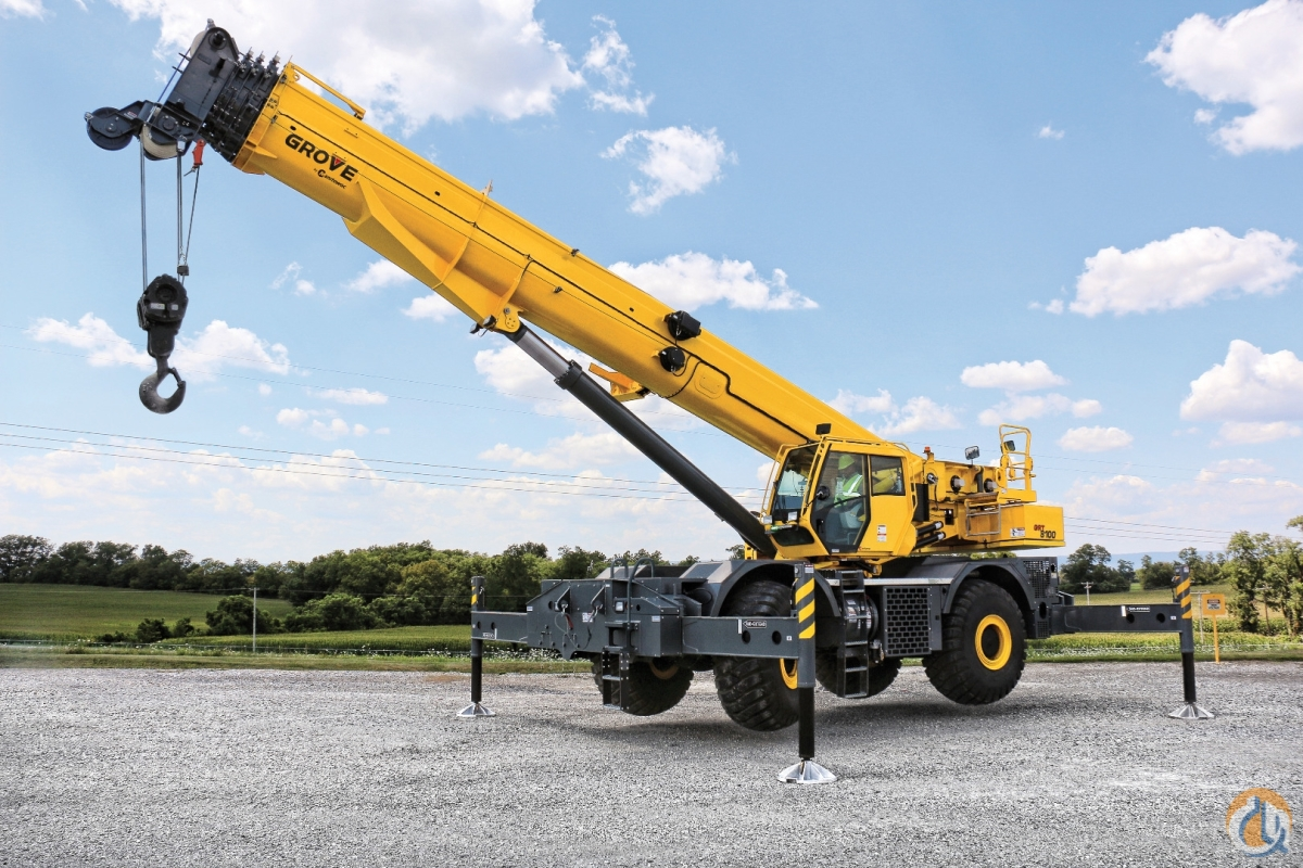 New 2019 Grove GRT 8100 100 Ton Crane for Sale in Shady Grove Pennsylvania on CraneNetwork.com