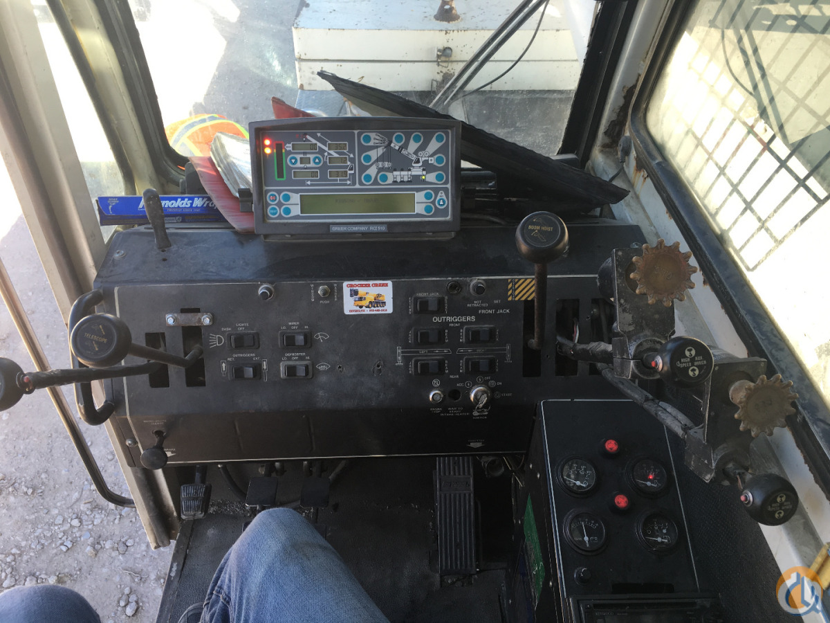 2000 TEREX T550 Crane for Sale in Dallas Texas on CraneNetworkcom